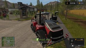 Мод на трактор CASE IH Quadtrac