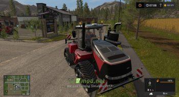 Мод на трактор CASE IH Quadtrac