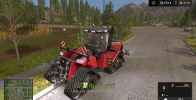 Мод на трактор CASE IH Quadtrac для Farming Simulator 2017