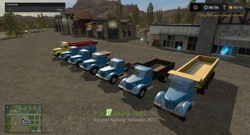 Мод на грузовики МАЗ/ЯАЗ-200