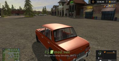 Мод на Wartburg 353W для Farming Simulator 2017