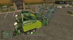 Мод на Class 3200 And Krone Ultima Balers With Front Nadal