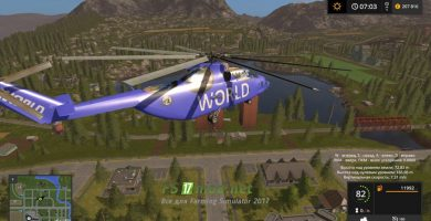 Мод на вертолёт TFSG МИ-26 World
