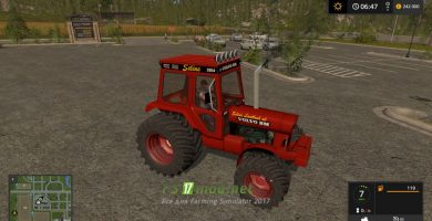 Мод на Volvo Bm 2654 для Farming Simulator 2017