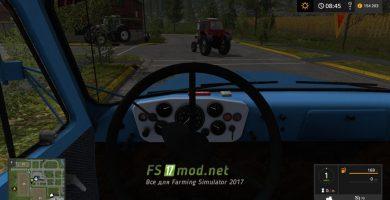 ГАЗ -53 вид с кабины