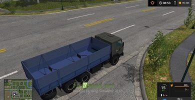 КАМАЗ 53212 и СЗАП 8357