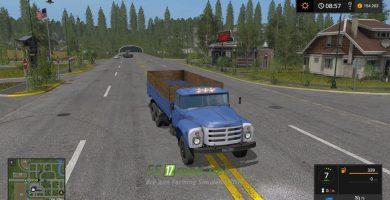 Мод на ЗИЛ 133-ГЯ Борт для Farming Simulator 2017