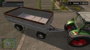 Мод на прицеп BSS PS2 для Фермер Симулятор 2017