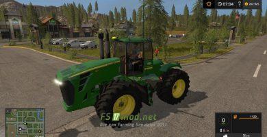 Мод на трактор John Deere 9030 Series для игры Симулятор Фермера 2017