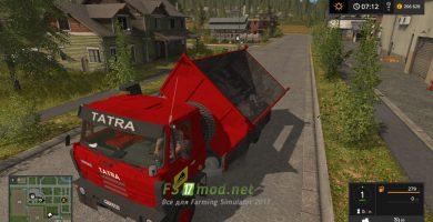 Мод на Tatra 815 S3 для игры Фермер Симулятор 2017