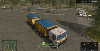 Мод на МАЗ 5516 для игры Farming Simulator 2017