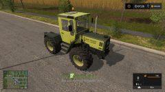 Мод на трактор Mercedes Benz Trac 1000 - 1100 для игры Фермер Симулятор 2017