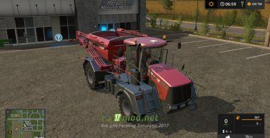 Мод на Case Titanium 4540 Official для Farming Simulator 2017