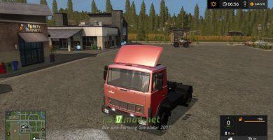 Мод на МАЗ 5432 4X4 для игры Фермер Симулятор 2017