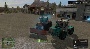 Мод на трактора ХТЗ Т-150 для игры Farming Simulator 2017