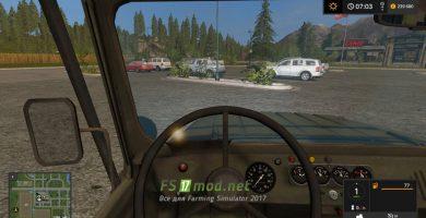 УАЗ-31519 вид с кабины