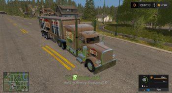 Мод на Pepsi Cola Truck & Trailer для игры Farming Simulator 2017