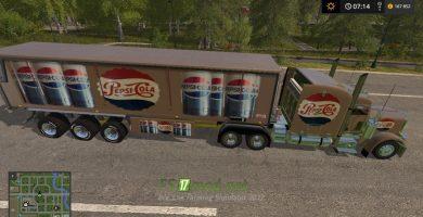 Pepsi Cola Truck & Trailer