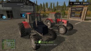 Мод на МТЗ-1221 для игры Farming Simulator 2017