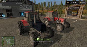 Мод на МТЗ-1221 для игры Farming Simulator 2017