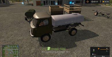 Мод на УАЗ-3303 Pack для Farming Simulator 2017