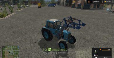 Мод на Трактор МТЗ — 80 для игры Симулятор Фермера 2017