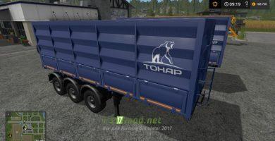 Мод на Тонар-95411 для игры Симулятор Фермера 2017