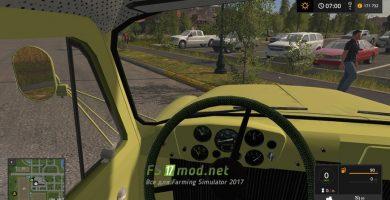 ГАЗ 52 вид с кабины