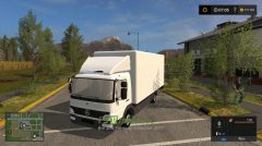 Мод на Mercedes Benz Atego 818 With Accessories