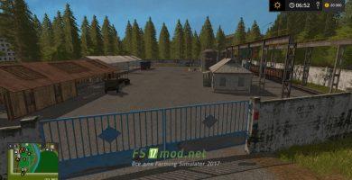 Мод на карту Ягодное для игры Симулятор Фермера 2017