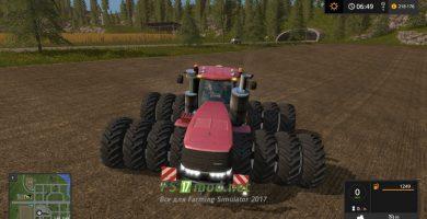 Mод на Caseih Steiger 1000 для игры Симулятор Фермера 2017