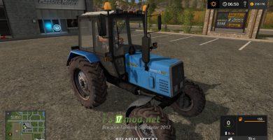 Мод на МТЗ 892 для игры Farming Simulator 2017
