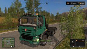 Мод на Tatra Phoenix Euro 6 для игры Farming Simulator 2017