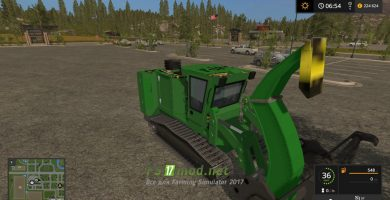 Мод на John Deere Chipper