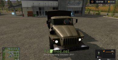 Мод на Урал 4320 Борт для игры Farming Simulator 2017