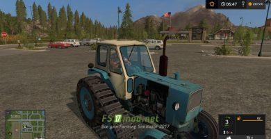 Mод на трактор ЮМЗ-6Г