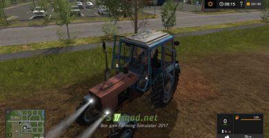 Мод на Трактор MR МТЗ 100