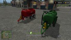 Мод на Бочку РЖТ-6 (Красная/Зеленая) для игры Фермер Симулятор 2017