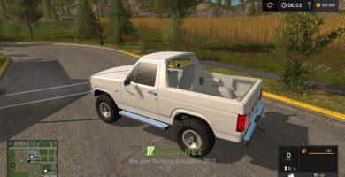 Мод на Ford Bronco для игры FS 2017
