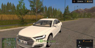 Мод на AUDI A8 для игры Farming Simulator 2017