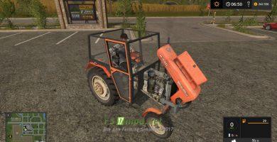 Мод на трактор Ursus C330M