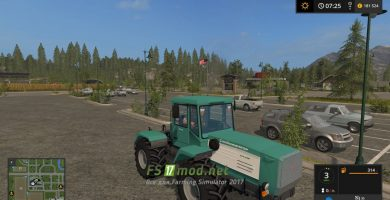 Мод на трактор ХТА-220 Слобожанец для игры Farming Simulator 2017
