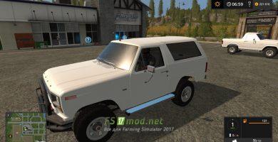 Мод на Ford Bronco XLT