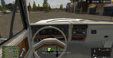 Ford Bronco XLT вид с салона
