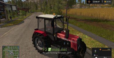 Мод на Беларусь 952 Агропанька для игры Farming Simulator 2017