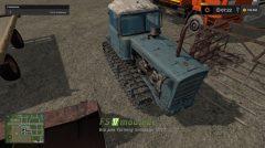 Mод на трактор DT75 Kazahstan