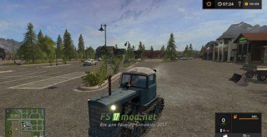 трактор DT75 Kazahstan