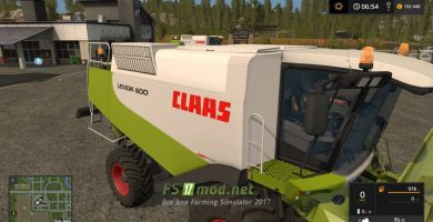 Мод на Claas Lexion 600 Full Pack