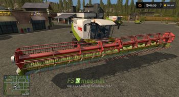 Claas Lexion 600 Full Pack