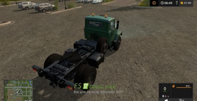 Мод на Краз 5133 для Farming Simulator 2017